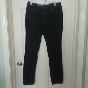 d. jeans New York Women's Skinny Faded Black Jeans